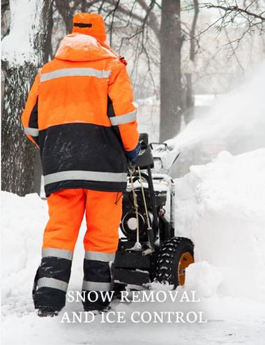 Snow removal and ice removal